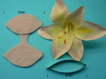 Lily Petal Veiner and Cutter Set