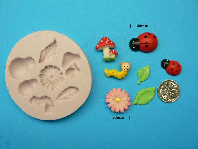 Garden Friends Silicon Mould