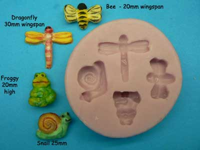 Water Garden Friends Silicon Mould