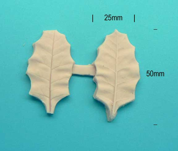 Holly Leaf Veiner Double sided