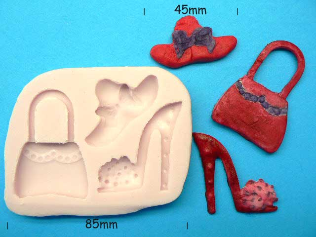 Hat, Bag & Shoe Silicon Mould