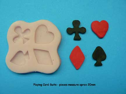 Playing Card Suits Mould