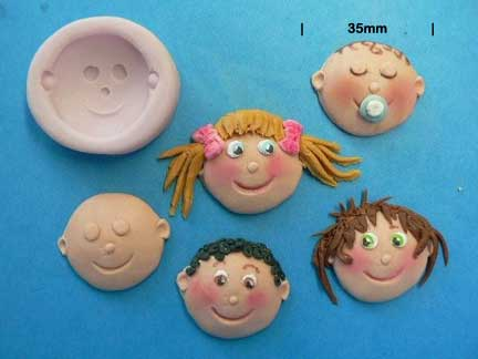 Funny Faces Mould 35mm