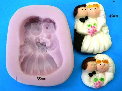 Bride & Groom Mould