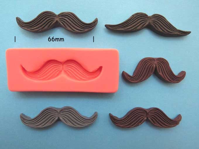 Moustache Mould 66mm wide