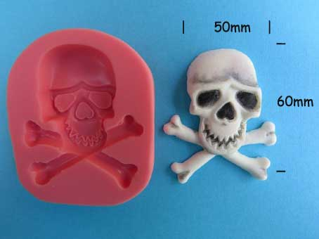 Skull Mould large 60 x 50mm
