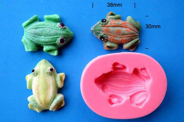 Frog Mould 38 x 30mm