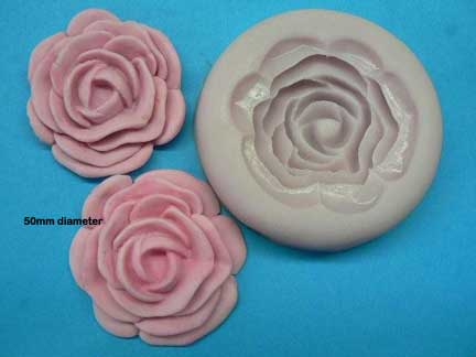 Rose Mould (Large 50mm)