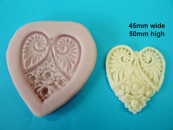 Heart Embellishment Mould