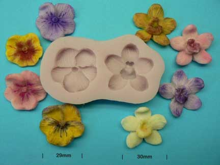 Orchid & Pansy Mould