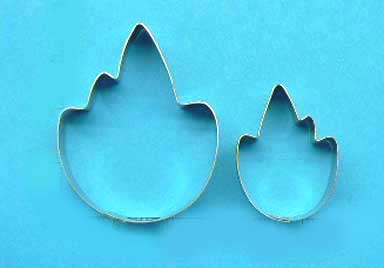 Maple / Grape leaf Cutters Set of 2