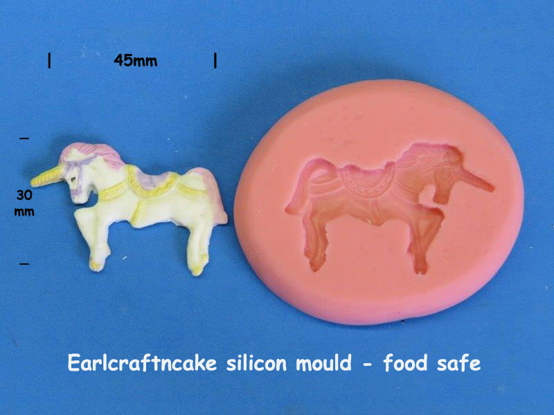 Unicorn Mould 45 x30mm