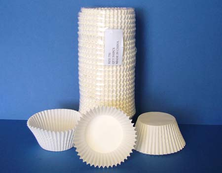 White Paper Cups Large (pkt 500)