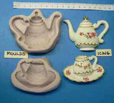 Teapot and Teacup Mould