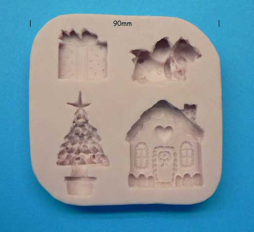 Christmas Decoration Mould - 4 novelties