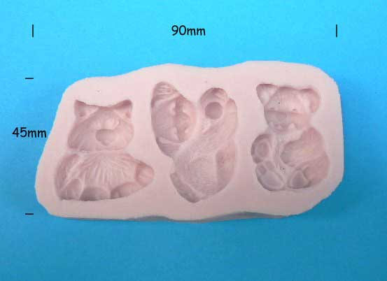 Furry Friends - silicon mould
