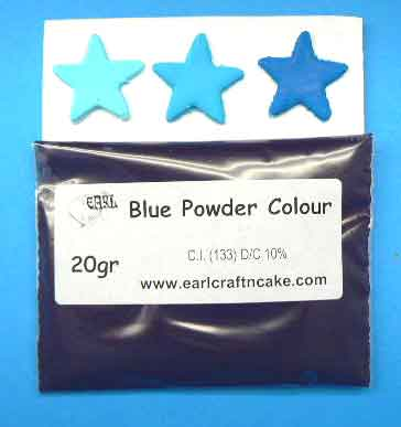 Blue Powder Colour 20GR