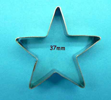 Five Point Star Cutter Lge