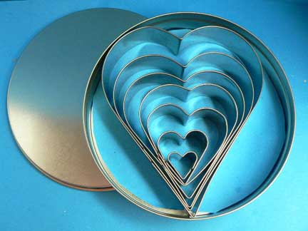 Heart Cutter Set ( 7 piece)