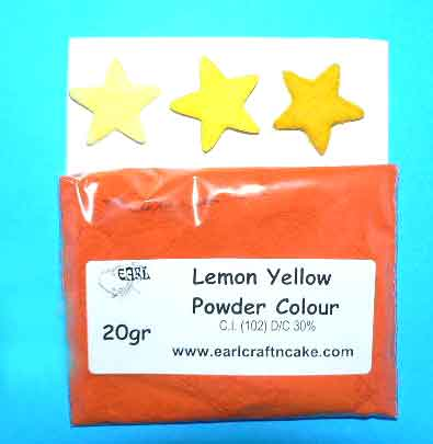 Lemon Yellow Powder colour 20GR