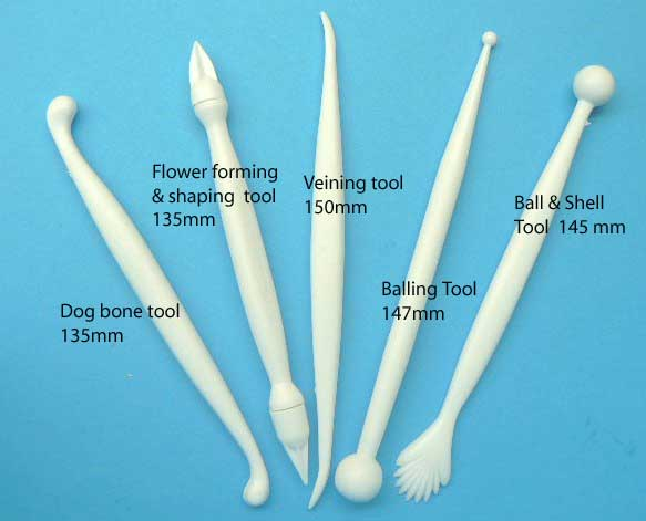 Cake Decorators Modelling Tools