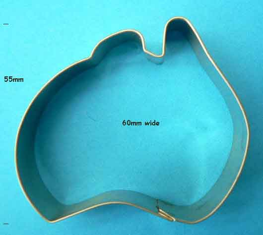 Small Australia Cookie Cutter