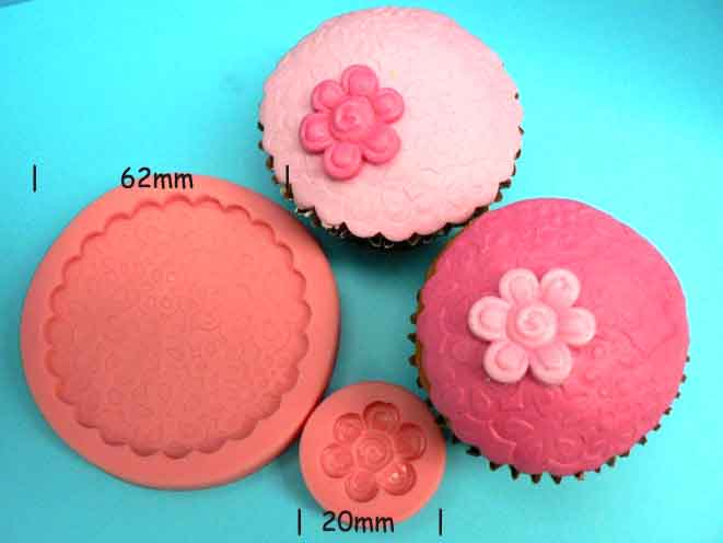Blossom Cupcake Top and blossom Mould