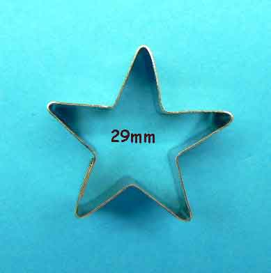 Five Point Star Cutter - small